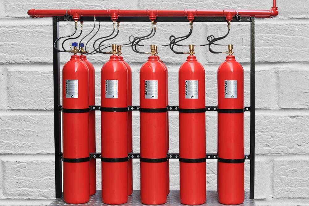 FM200/C02 Fire Suppression - Environmental Controls Fire Protection, Inc.